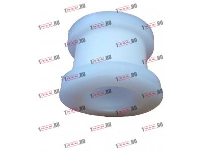 Втулка фторопластовая (передняя, кабина AZ1642430263) H2/H3 HOWO (ХОВО) AZ1642430261 фото 1 Киров