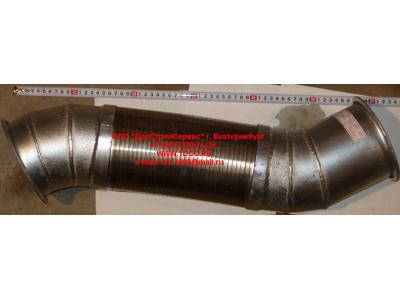 Гофра-труба выхлопная 8х4 d=120 H2/H3 HOWO (ХОВО) WG9731540002 фото 1 Киров