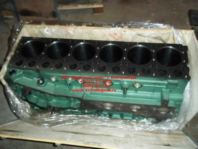 Блок цилиндров двигатель WD615.68 (336 л.с.) H2 HOWO (ХОВО) 61500010383 фото 1 Киров