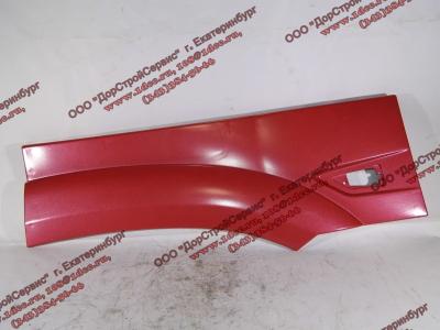 Крыло кабины со спальником красное задняя часть левая (под треугольный повторитель в конце) H3 HOWO (ХОВО) WG1642230107 фото 1 Киров