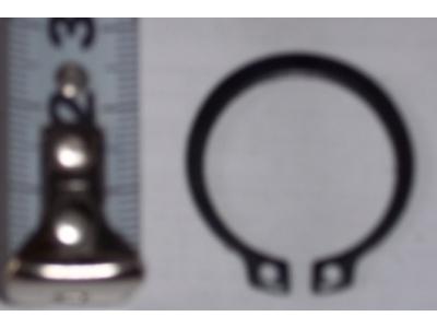 Кольцо стопорное замковое шестерни полуоси H HOWO (ХОВО) 190003933351 фото 1 Киров