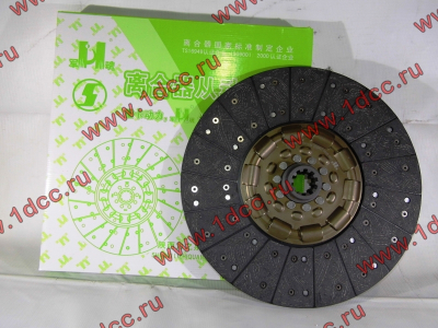Диск сцепления ведомый 420 мм H2/H3 HOWO (ХОВО) WG1560161130 фото 1 Киров