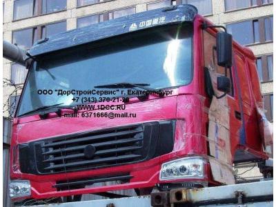 Кабина H3 красная со спальником HOWO (ХОВО)  фото 1 Киров