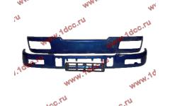 Бампер C синий верхний+нижний (в сборе) фото Киров
