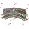 Колодка тормозная задняя с накладками H2/H3 HOWO (ХОВО) WG199000340061 фото 3 Киров
