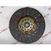 Диск сцепления ведомый 420 мм H2/H3 HOWO (ХОВО) WG1560161130 фото 4 Киров